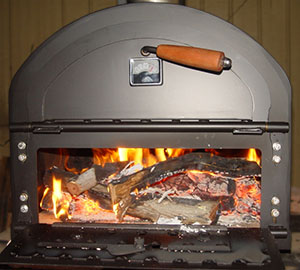 Wood fired ovens at home