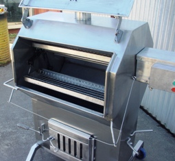 Home Stainless Charcoal Rotisserie-04